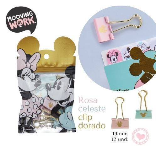 Mickey Mouse Binder Clips 19mm