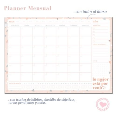 planner mensual FW