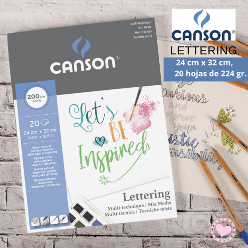 Canson Lettering